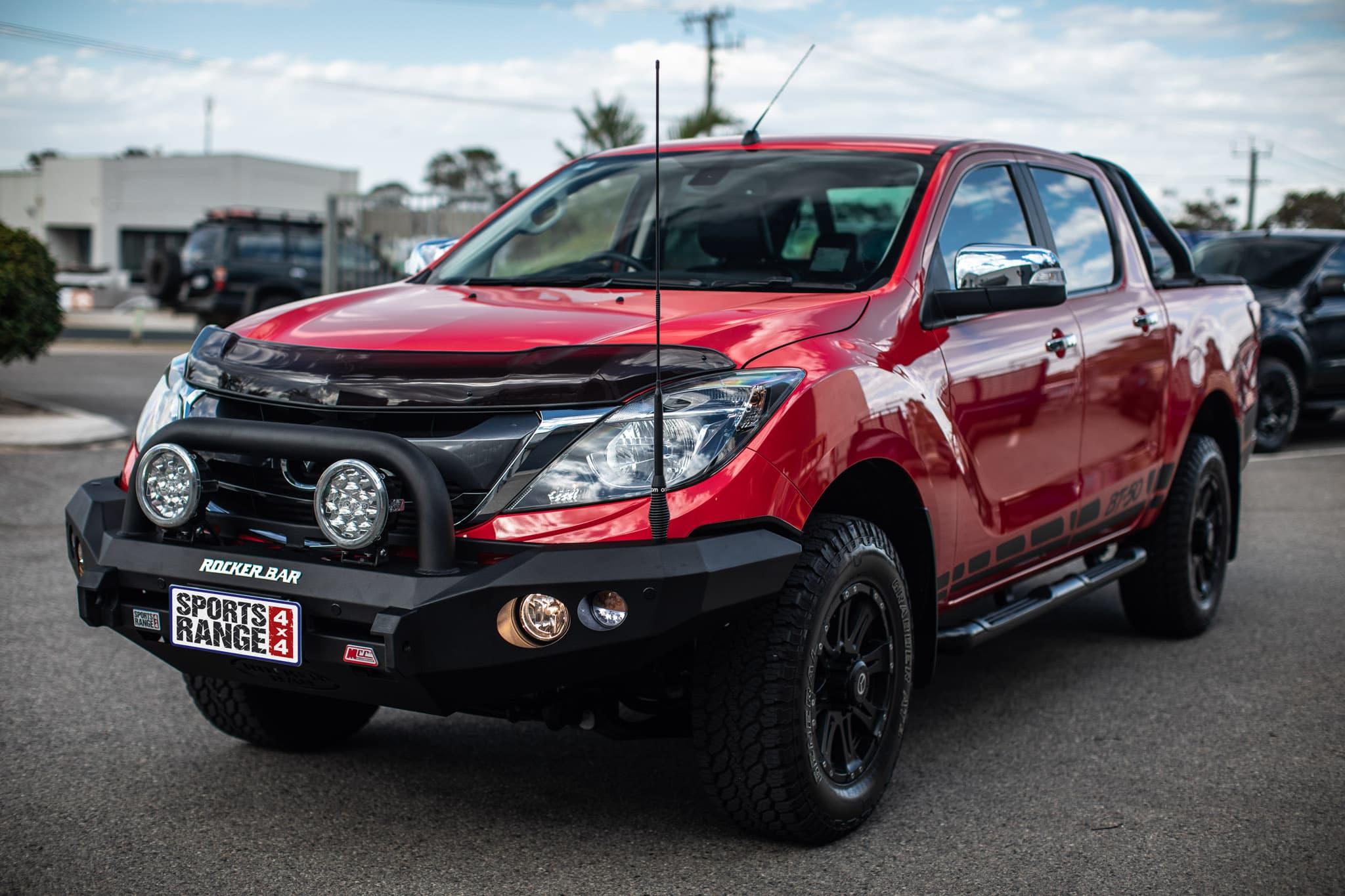 Mazda BT-50 MCC Rocker Single Loop Bar
